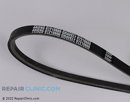 Belt: V-Belt 07210800 Main Product View