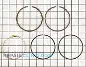 Piston Ring Set - Part # 1610487 Mfg Part # 48 108 05-S