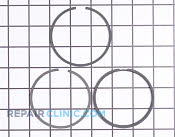 Piston Ring Set - Part # 1730421 Mfg Part # 40006