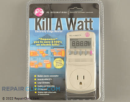 The Kill-A-Watt power consumption meter