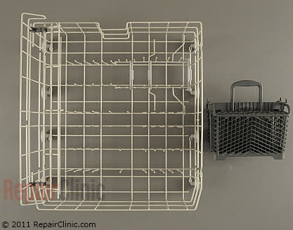 Lower Dishrack Assembly W10280784 Main Product View