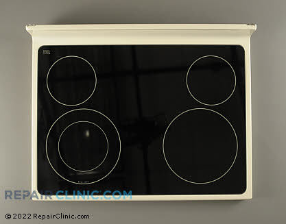 Glass Cooktop W10217730       Main Product View