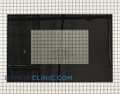 Oven Door Glass - Part # 755532 Mfg Part # 62124B