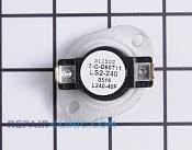 High Limit Thermostat - Part # 276793 Mfg Part # WE4X687