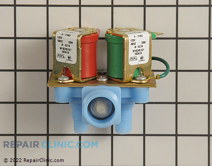 Water Inlet Valve W10245167       Main Product View