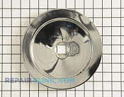8 Inch Burner Drip Bowl - Part # 1021604 Mfg Part # 00484593