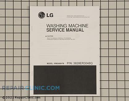 Repair Manual 3828ER3048Q     Main Product View