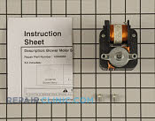 Exhaust Fan Motor - Part # 997946 Mfg Part # 12002065