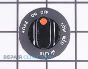 Control Knob - Part # 1230985 Mfg Part # Y0042656
