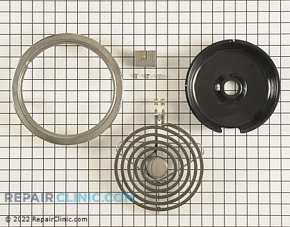 Coil Surface Element CK100-208V Main Product View