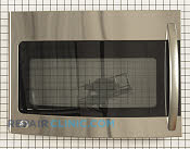 Microwave Oven Door - Part # 1556408 Mfg Part # WB55X10947