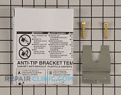 Anti-Tip Bracket - Part # 1485791 Mfg Part # 5304469772