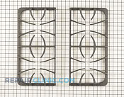 Burner Grate - Part # 1554395 Mfg Part # 318560460