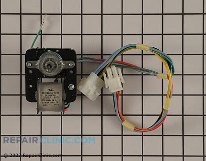 Evaporator Fan Motor 241854301       Main Product View