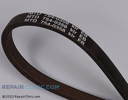 Belt: V-Belt 954-0358 Main Product View