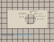 Control  Panel - Part # 419565 Mfg Part # 154348001
