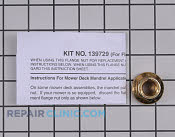 Flange Nut - Part # 1659604 Mfg Part # 139729