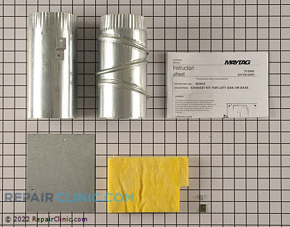 Exhaust Duct Y304652         Main Product View
