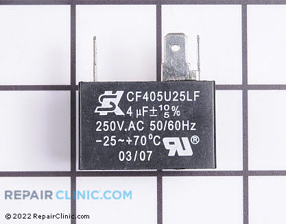 Capacitor AC-1400-109     Main Product View