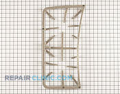 Burner Grate - Part # 1167380 Mfg Part # WB31K10153