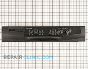 Control  Panel - Part # 1481433 Mfg Part # W10175347