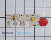 Oven Control Board - Part # 784521 Mfg Part # 3192767