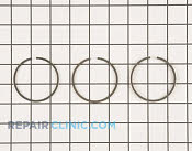 Piston Ring Set - Part # 1928128 Mfg Part # 13010-ZE0-013