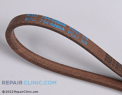 Belt: V-Belt 954-0280A Main Product View