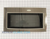 Microwave Oven Door - Part # 1472273 Mfg Part # W10216369