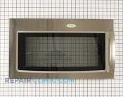 Microwave Oven Door - Part # 1472273 Mfg Part # W10216369