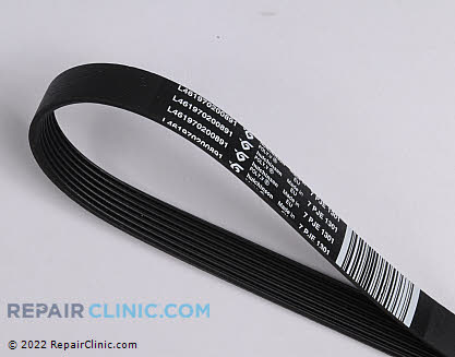 Drive Belt W10388414       Main Product View