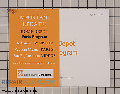 Home Depot Promotional Material HDTRAINMANUAL Main Product View