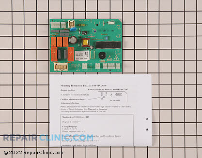 Control Board 8077347         Main Product View