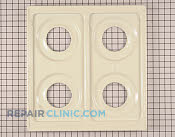 Metal Cooktop - Part # 895745 Mfg Part # 74006397