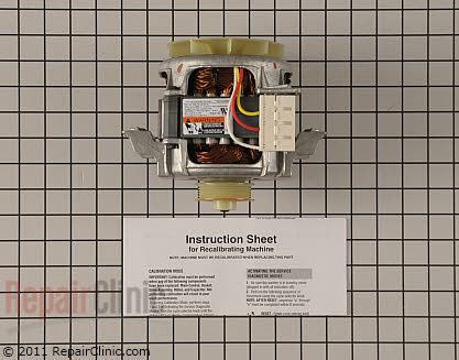 Drive Motor W10249628 Main Product View