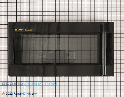 Microwave Oven Door CDORFB253MRK0 Main Product View