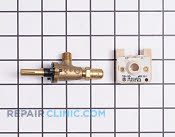 Surface Burner Valve - Part # 404833 Mfg Part # 12400036