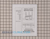 Installation Instructions - Part # 1377498 Mfg Part # 3874W500785