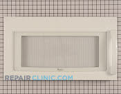 Microwave Oven Door - Part # 1472216 Mfg Part # W10211464