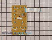 User Control and Display Board - Part # 1086404 Mfg Part # WB27X10792