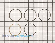 Piston Ring Set - Part # 1735353 Mfg Part # 13008-7001