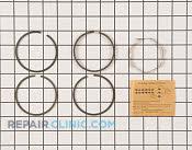 Piston Ring Set - Part # 1651509 Mfg Part # 391654