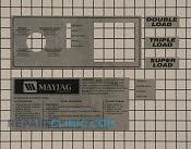 Control  Panel - Part # 893878 Mfg Part # 24002036
