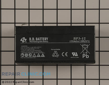 Battery 108-9358 Main Product View