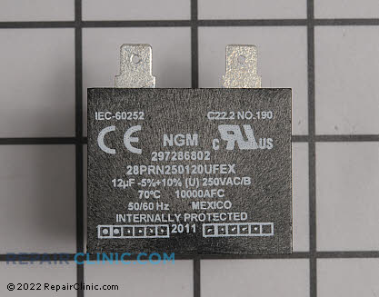 Run Capacitor 297286802 Main Product View