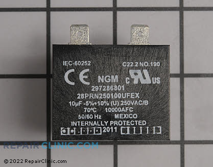 Run Capacitor 297286801 Main Product View