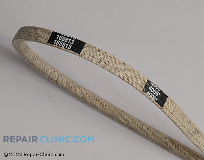 Belt: V-Belt 165813 Main Product View