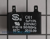 Capacitor - Part # 1877272 Mfg Part # W10325860
