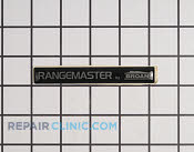 Nameplate - Part # 1172901 Mfg Part # S99090857