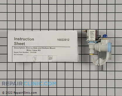 Water Inlet Valve 67003753 Main Product View